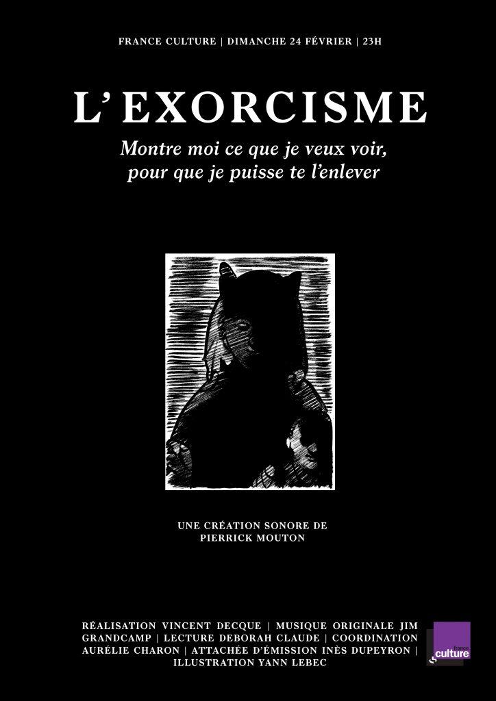 L'exorcisme, pierrick mouton